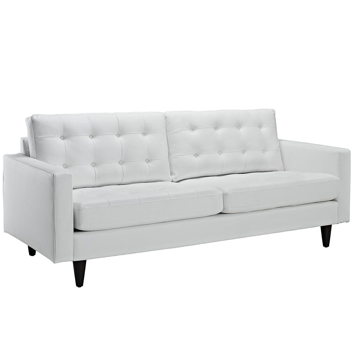 Comfy Sofa, Leather Couches, Bonded Leather, Modern Sofa, Plush, Modern