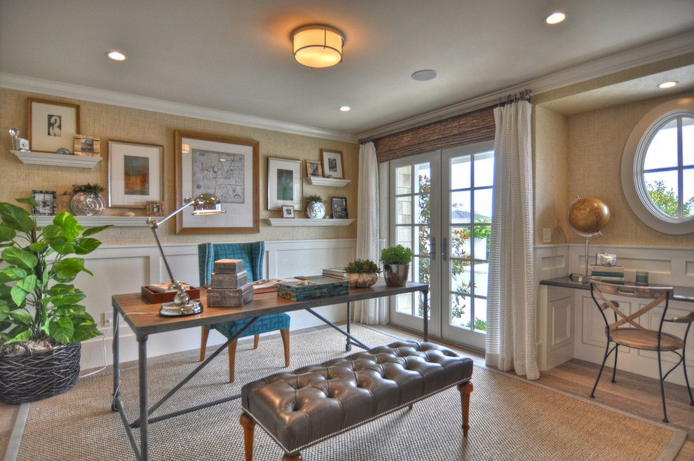 1512 Dolphin Terrace - traditional - home office - los angeles