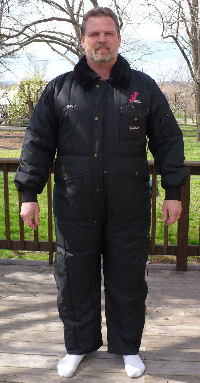 Refrigiwear Black Xl Insulated Coveralls Iron Tuff Men Wear