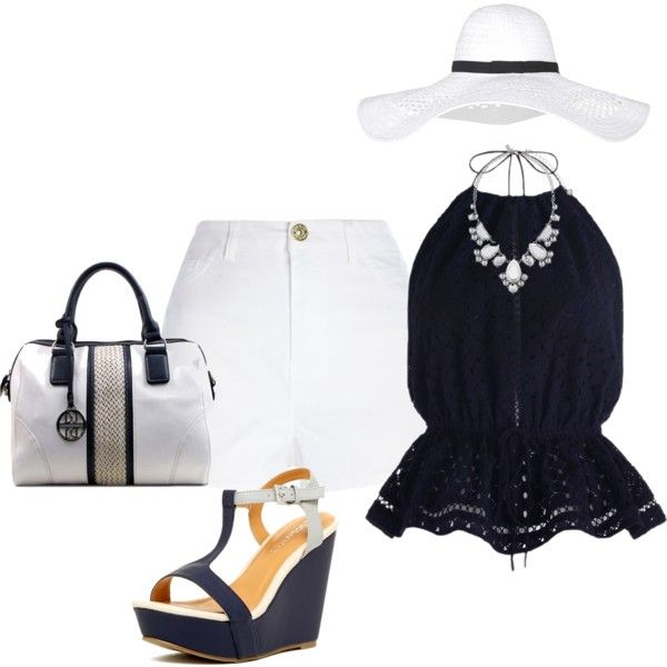 Sail away with me! by lollahs on Polyvore featuring polyvore fashion style Zimmermann River Island Matisse Kate Spade Topshop