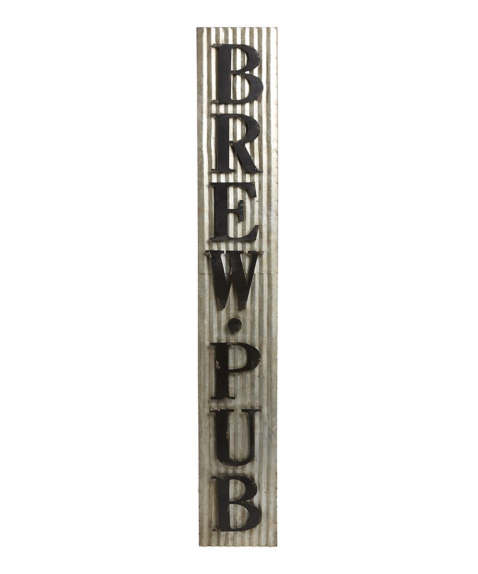 pd home and garden tin brew pub sign by pd home and garden - Pd Home And Garden