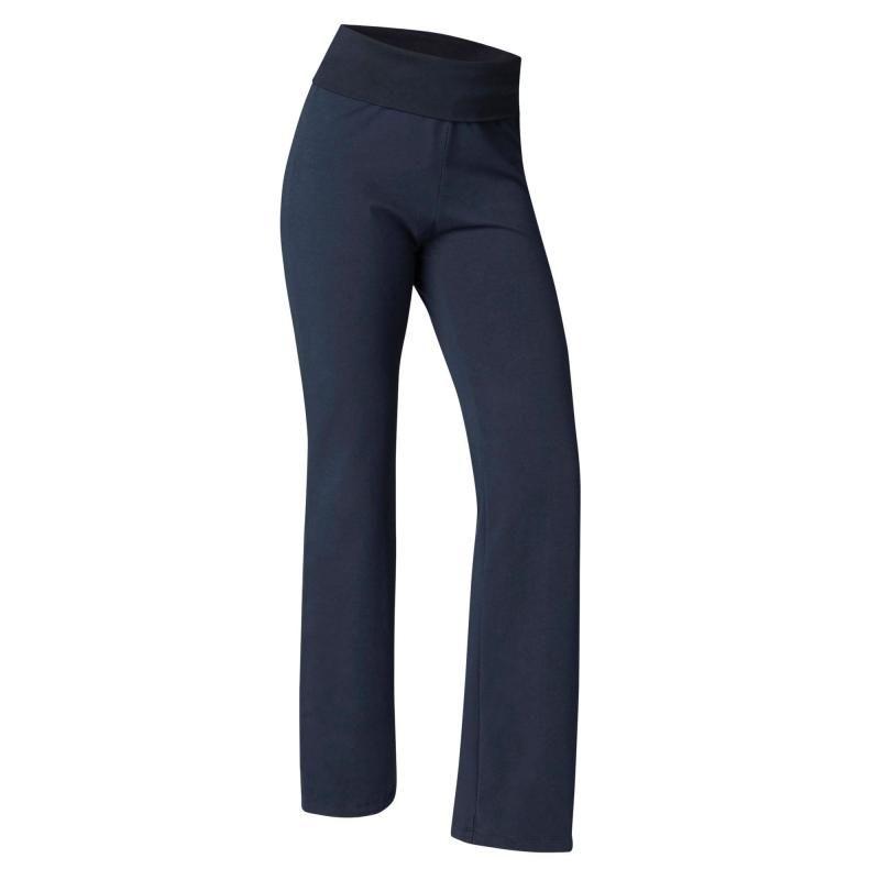 Pantalon yoga femme coton issu de l agriculture biologique marine ... 8cc6cd88432c