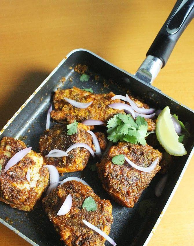 Amritsari fish recipe tawa fish fry recipe fish fry recipe amritsari tawa fish fry pan fried amritsari fish forumfinder Images