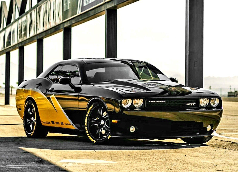 Custom Dodge Challenger Srt With Images Mustang Cars Mopar