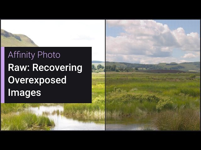 Raw Recovering Overexposed Images Affinity Photo Photo Software Photo Image