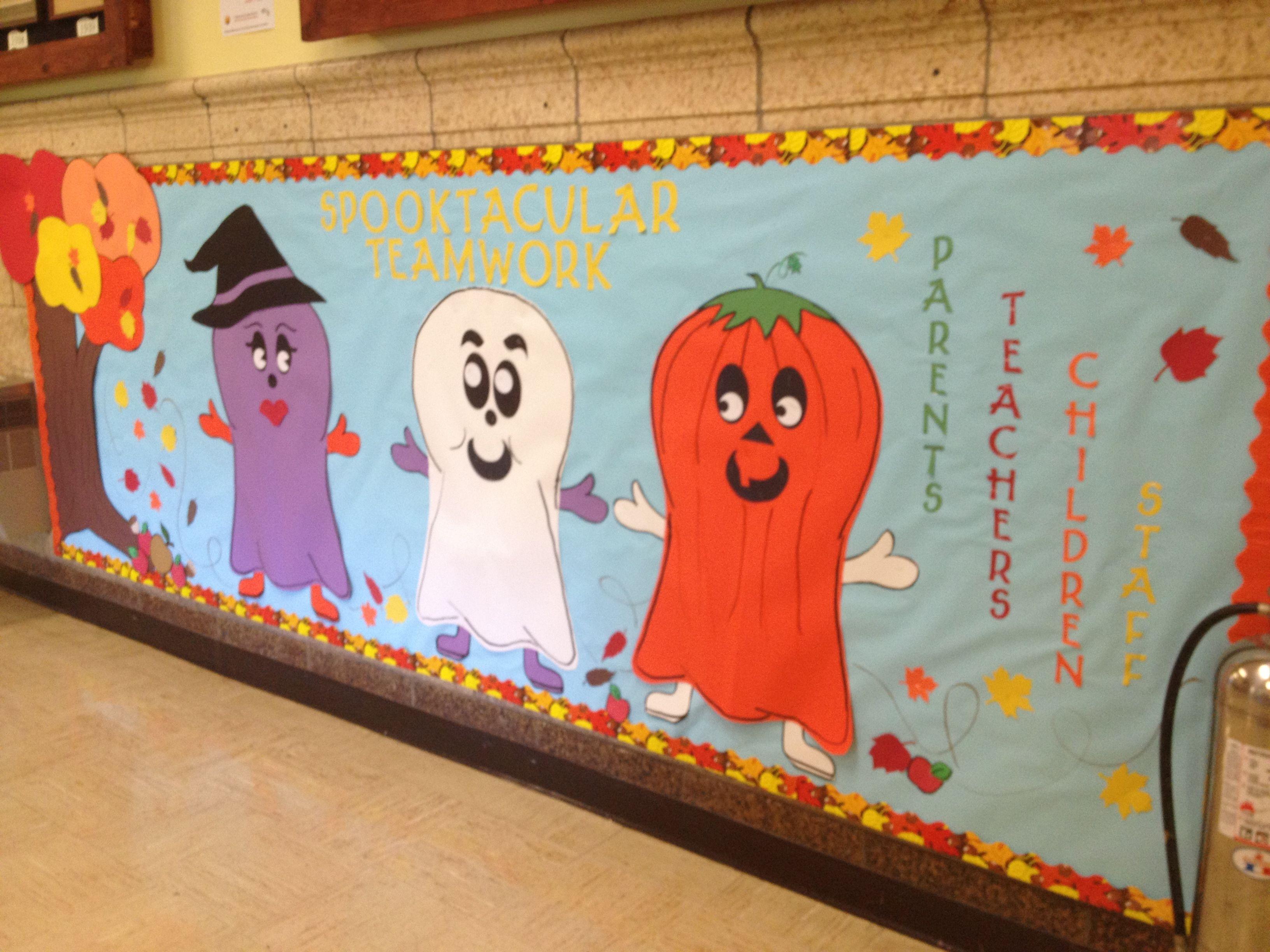 Bulletin Board Themes For Elementary School Hallways - Pin It