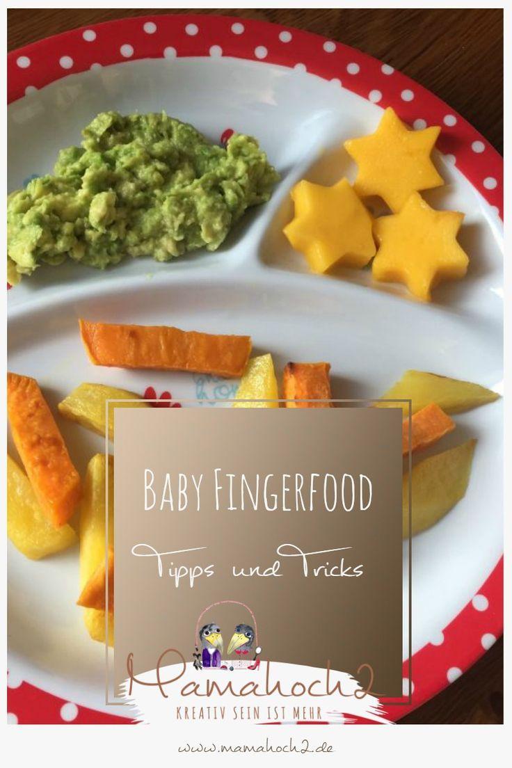 Fingerfood für Babys ⋆ Mamahoch2  – Babybrei und Beikost: Rezepte und Tipps