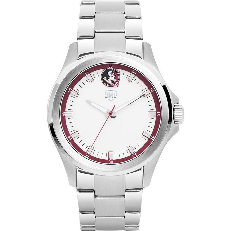 5c3b18587 Women s Carolina Panthers Jack Mason Brand Legacy Crystal 3-Hand Watch