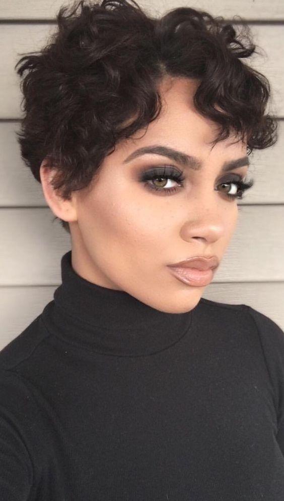 Best Short Hairstyles For Black Women 2018 | Short hairstyle, Black ...