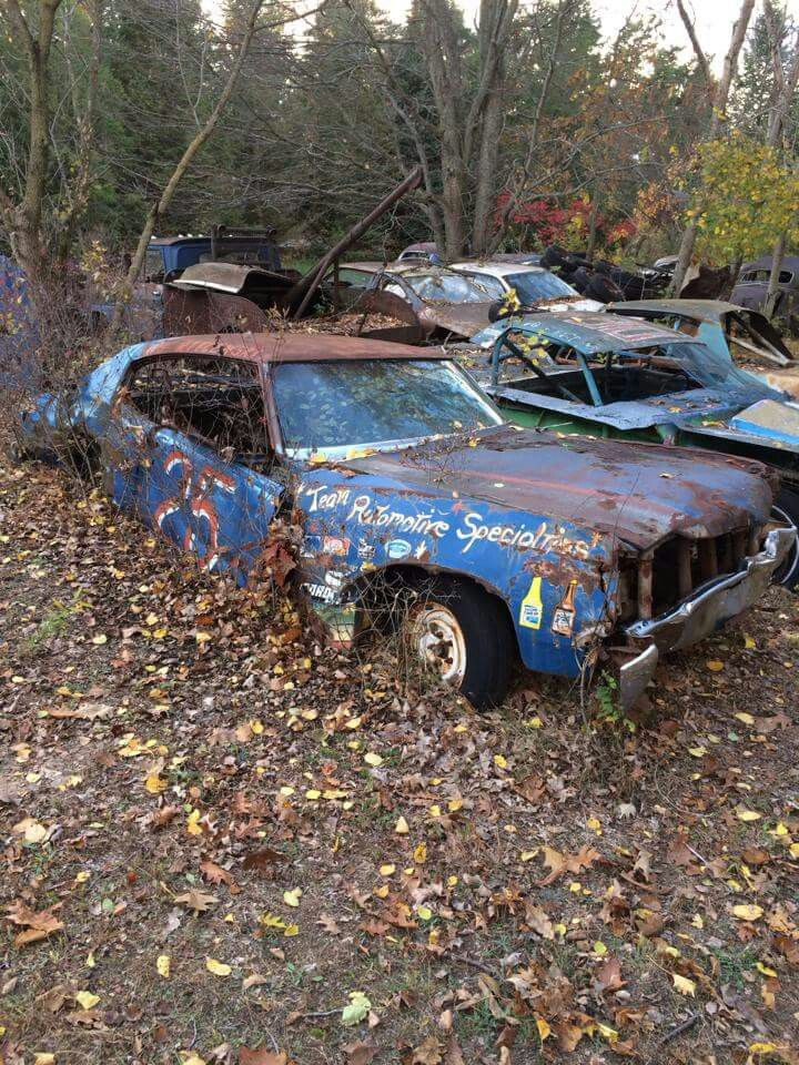 Racecar Grave Yard With Images Old Race Cars Race Cars