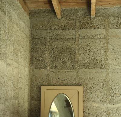 Enduit chaux chanvre Construction and Building ideas - doublage des murs interieurs
