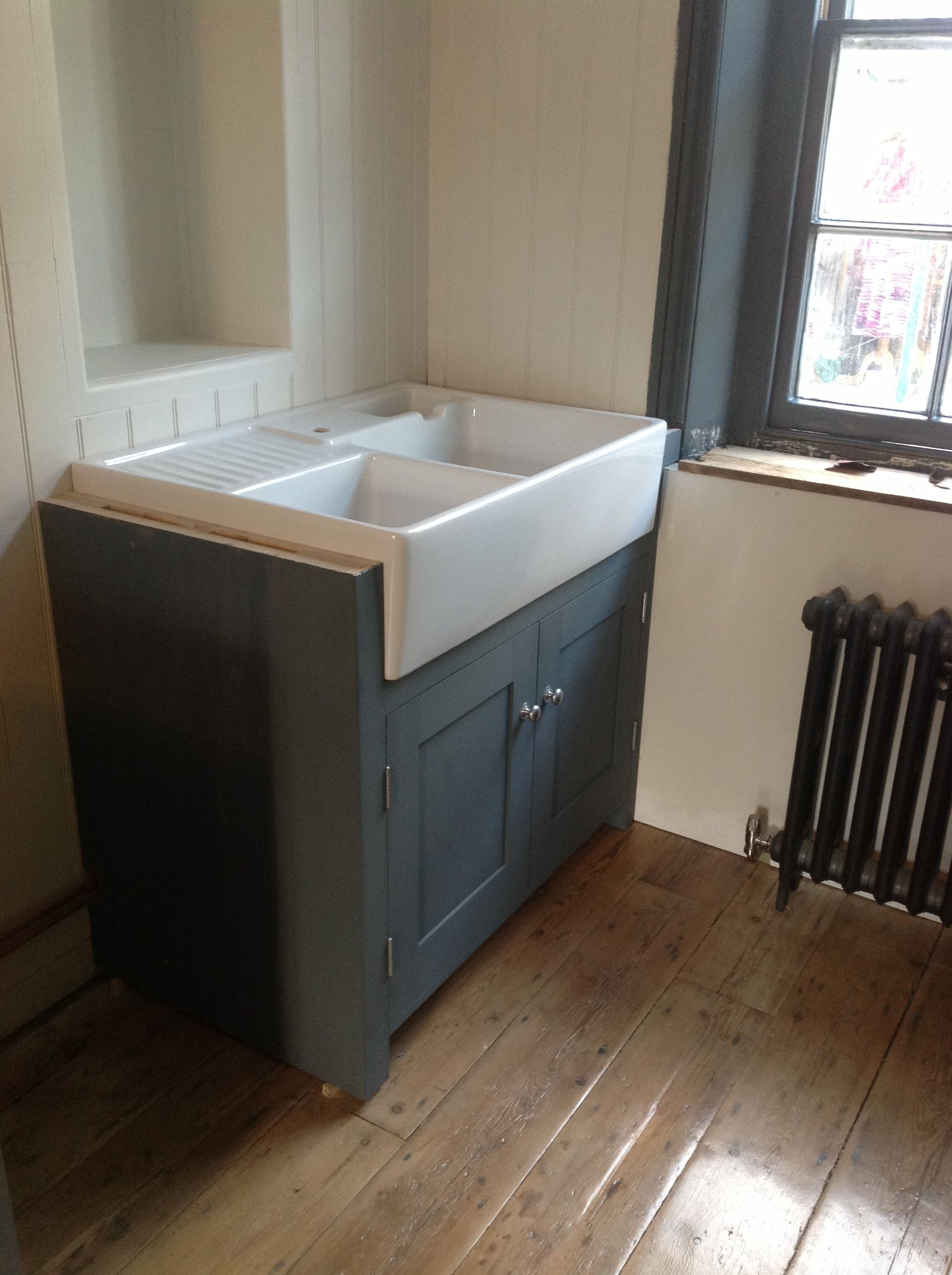 The wonderful sink has arrived