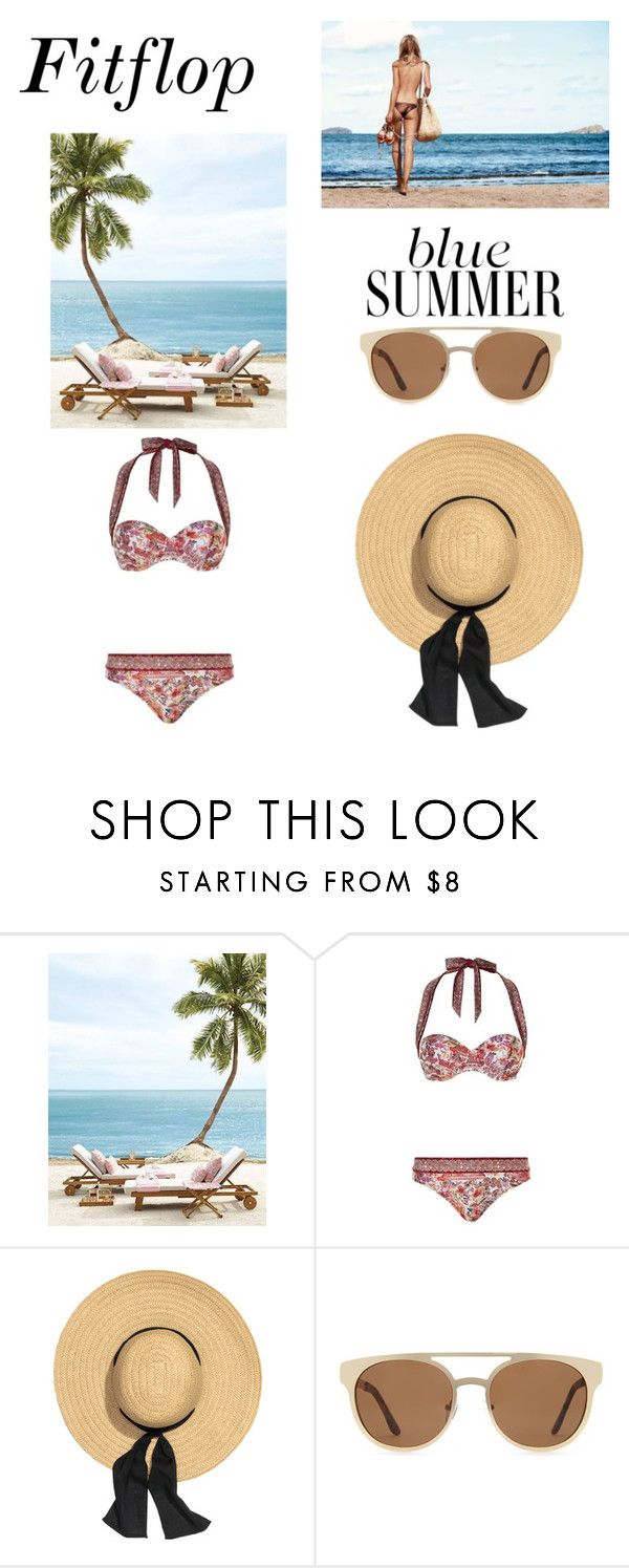 """""""vitamin sea"""" by kputri21 on Polyvore featuring Gottex and Forever 21"""