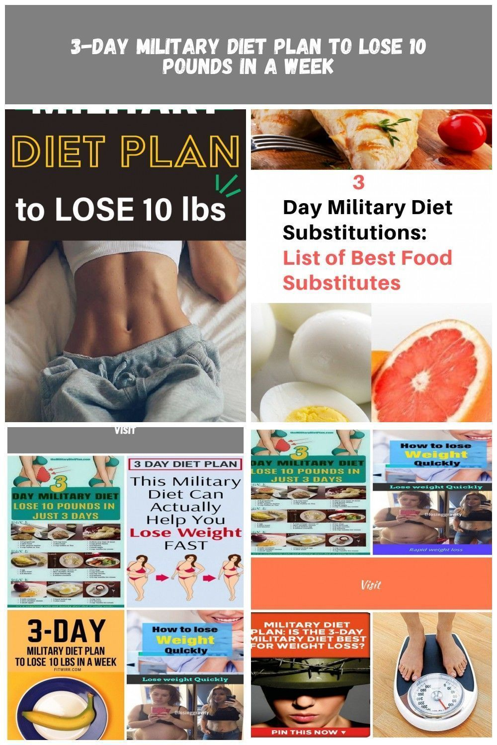 3 day military diet plan 10 pounds 3 day military diet