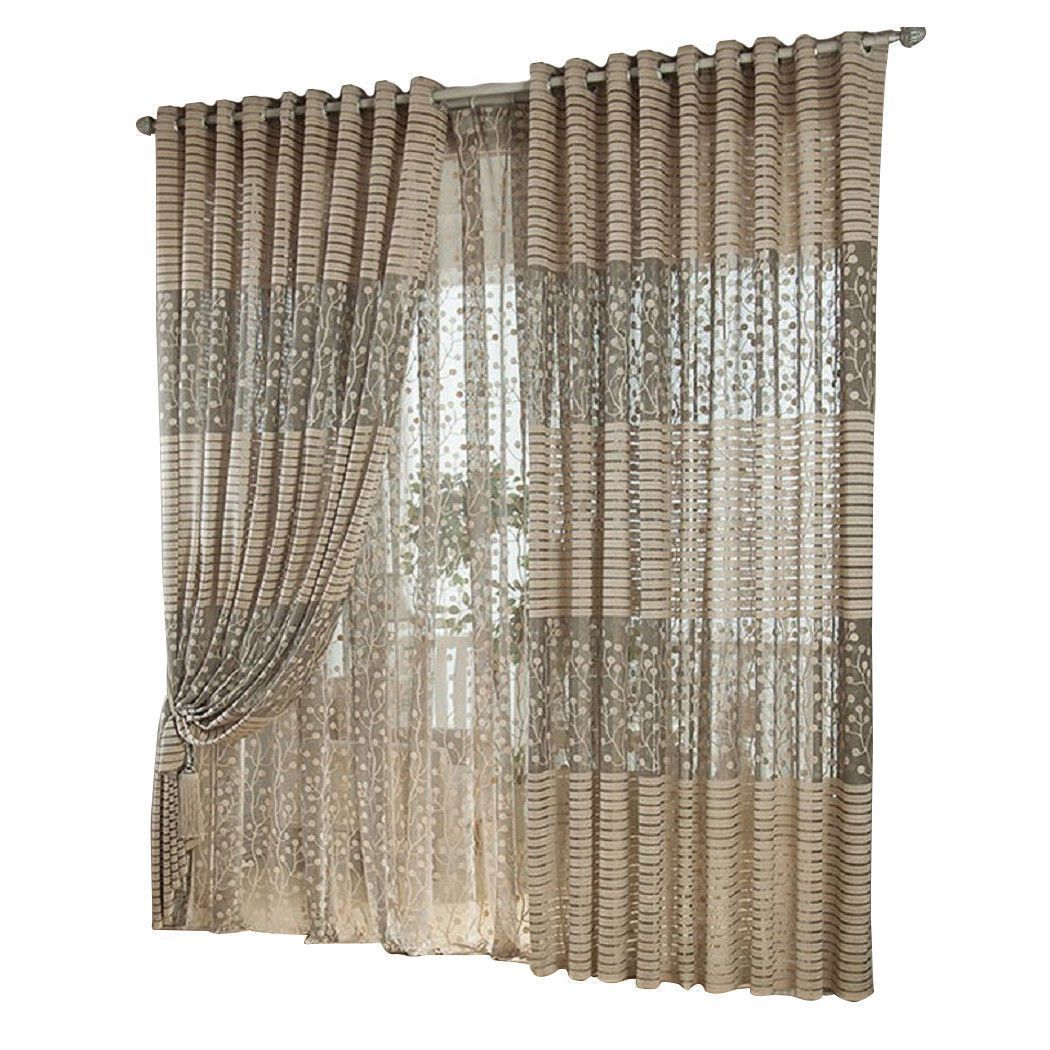 gbp willow country style blackout blinds for windows voile