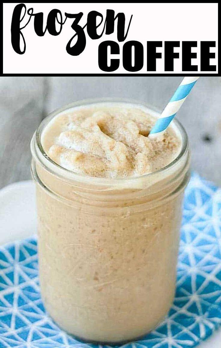 Skinny Frozen Coffee (Dunkin' Donuts Copycat) Recipe
