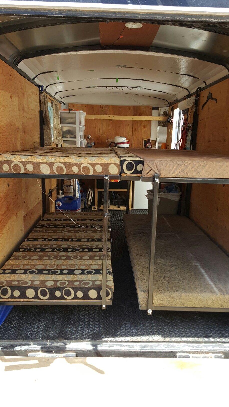 Www Motohaul Com Cargo Trailer Rv Fold Up Bunk Beds Cargo