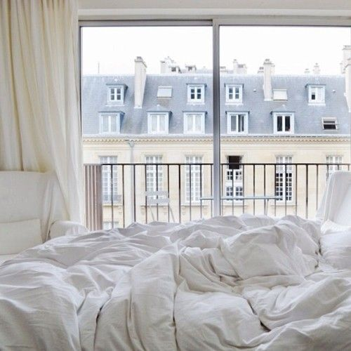 the bedroom I will have when I live in Paris