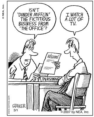 No place for lies in #Resume Job Interview Humor Pinterest - resume to interviews
