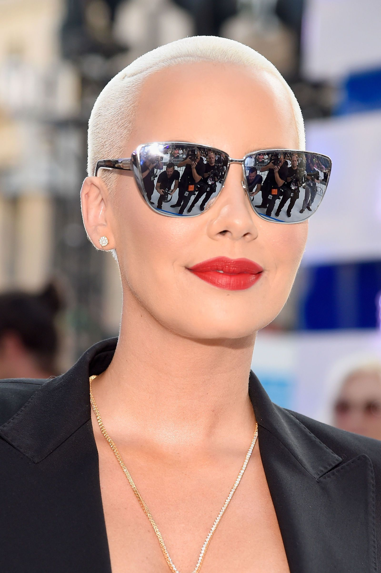 The Best Beauty Looks From The 2016 Vmas Short Hair Styles Pixie Amber Rose Style Gorgeous Makeup
