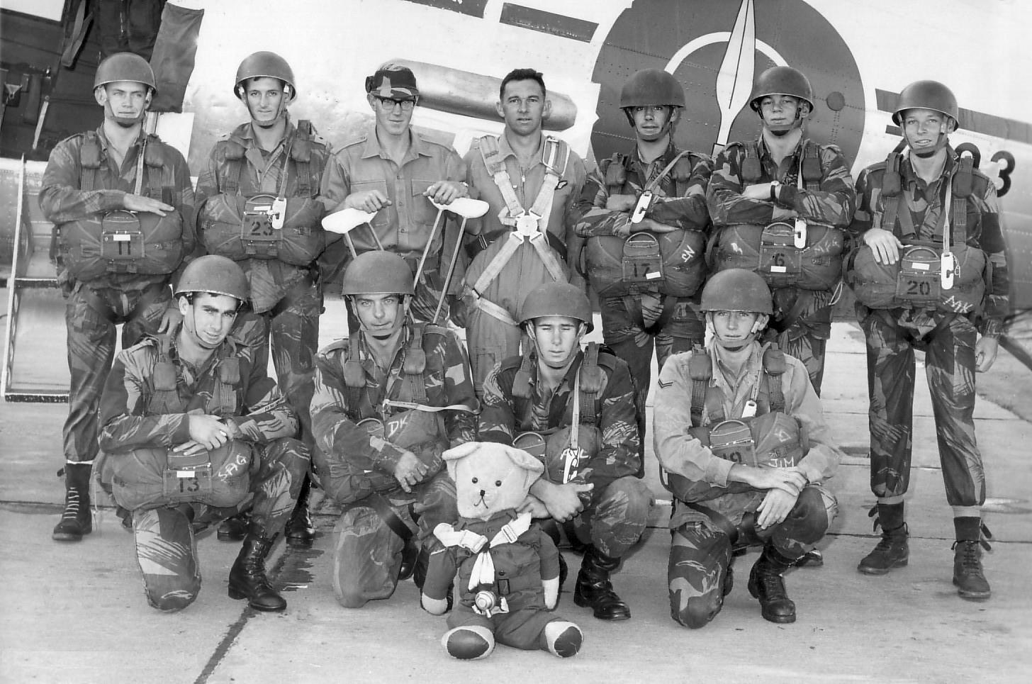 Rhodesian Parachute Course Voyage
