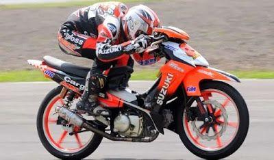 Modifikasi Motor Smash Road Race Merindukanmu Motor Honda