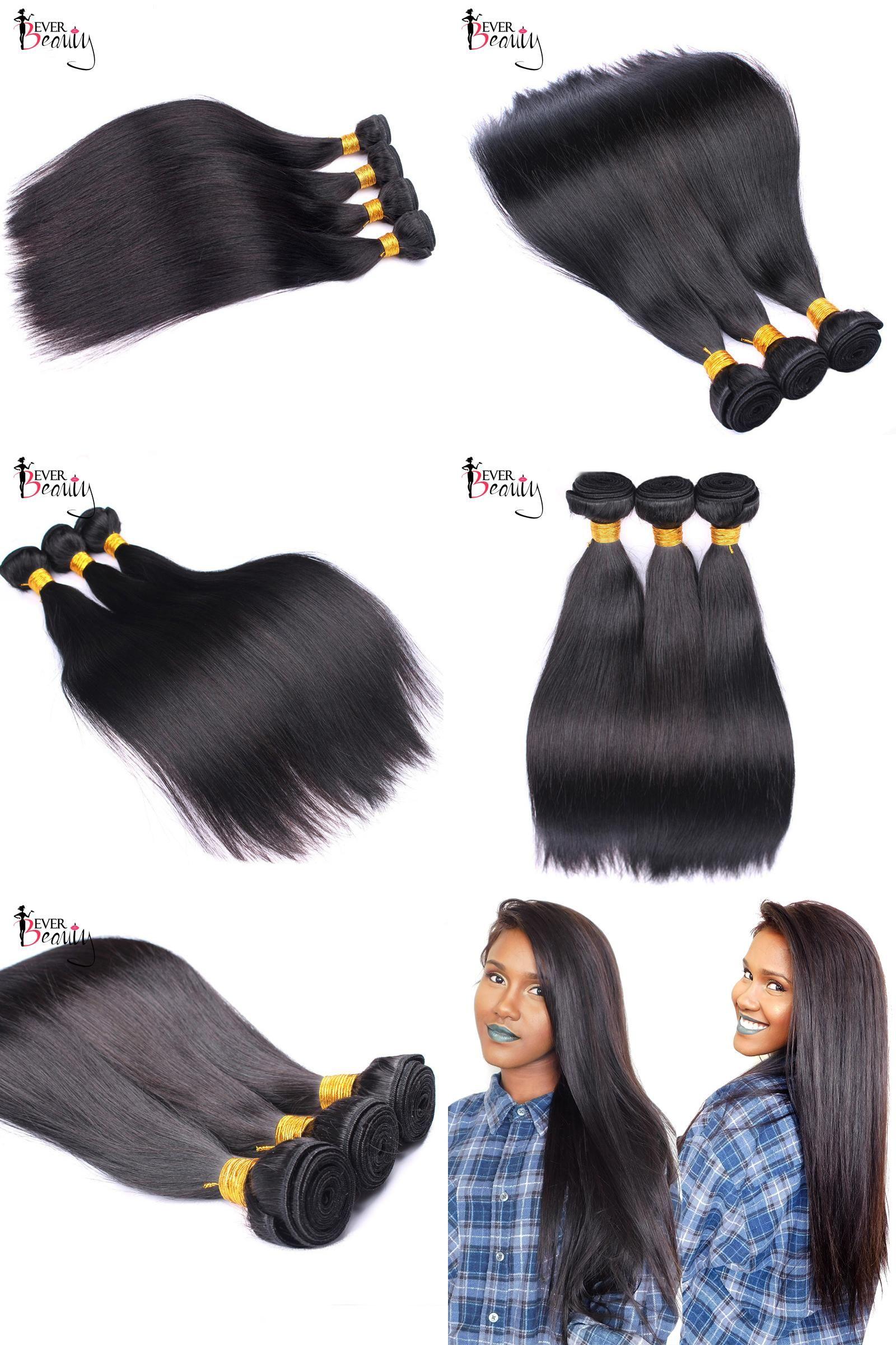Visit To Buy Brazilian Hair Weave Bundles Straight Remy Human Hair