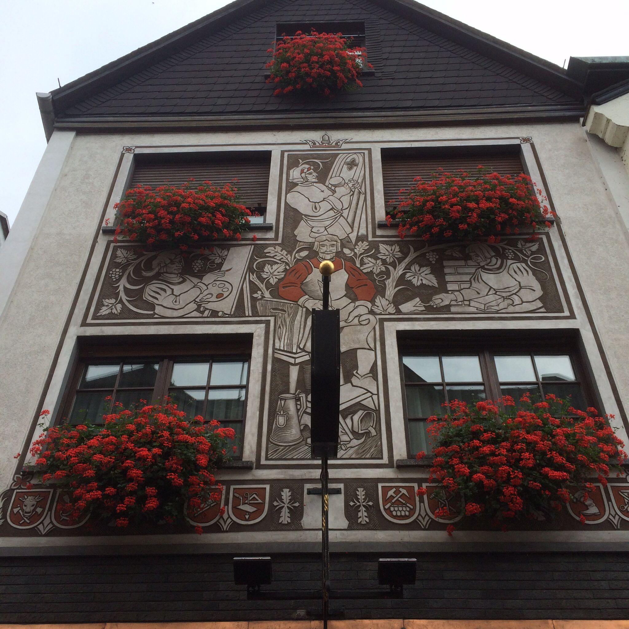 "A ""working man's"" pub in Assmannhausen, Germany"