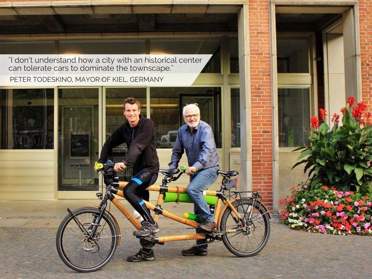 Ein Tandem Aus Bambus My Boo Bambus Fahrrad Fahrrader Kiel