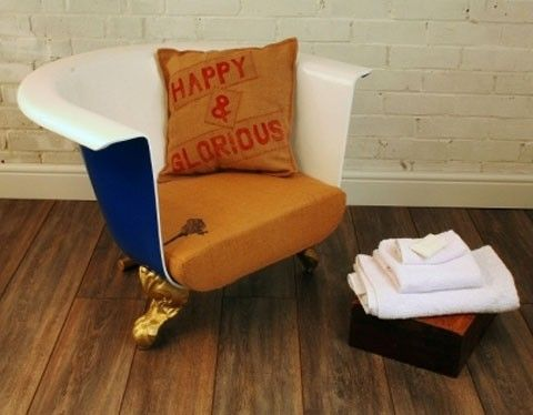 Anita Bath Tub Chair by Max McMurdo available on remadeinbritain.com ...