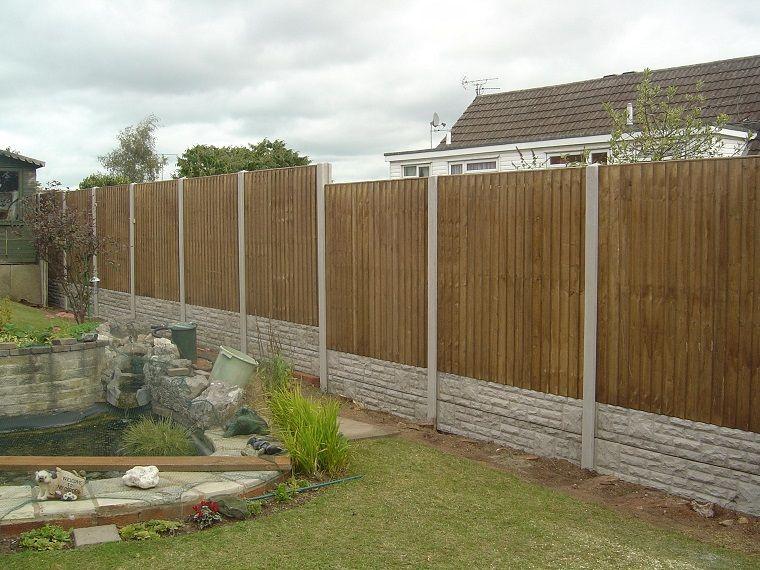 Recinzioni Per Giardino In Legno.Recinzioni Per Giardino Legno Pietra In 2019 Fence Styles Fence