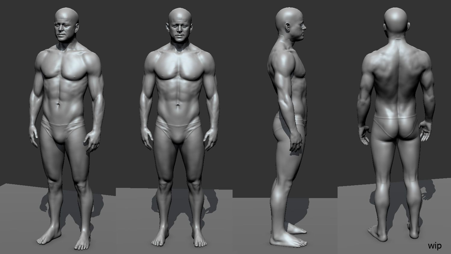 Pin By Thecgbros On Zbrush Sculpting Human Anatomy Reference