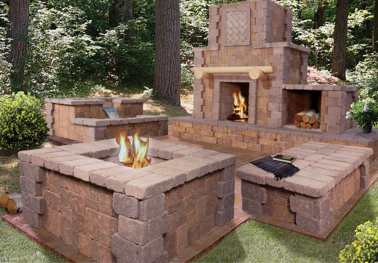 Make a bold statement in your backyard! The Cantwell