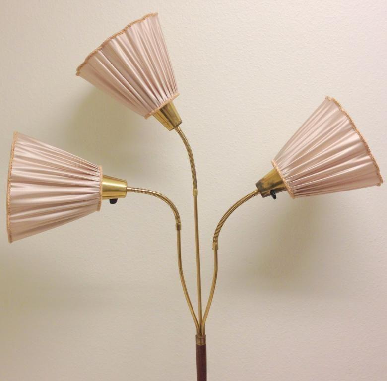 3 FINA LAMPSKäRMAR TILL DIN RETRO GOLVLAMPA SAND på Tradera com  Morfars golvlampa Pinterest