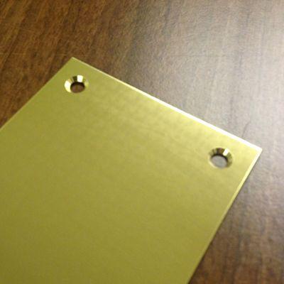 Polished Brass Kick Plate Kick Plate Polished Brass Plates