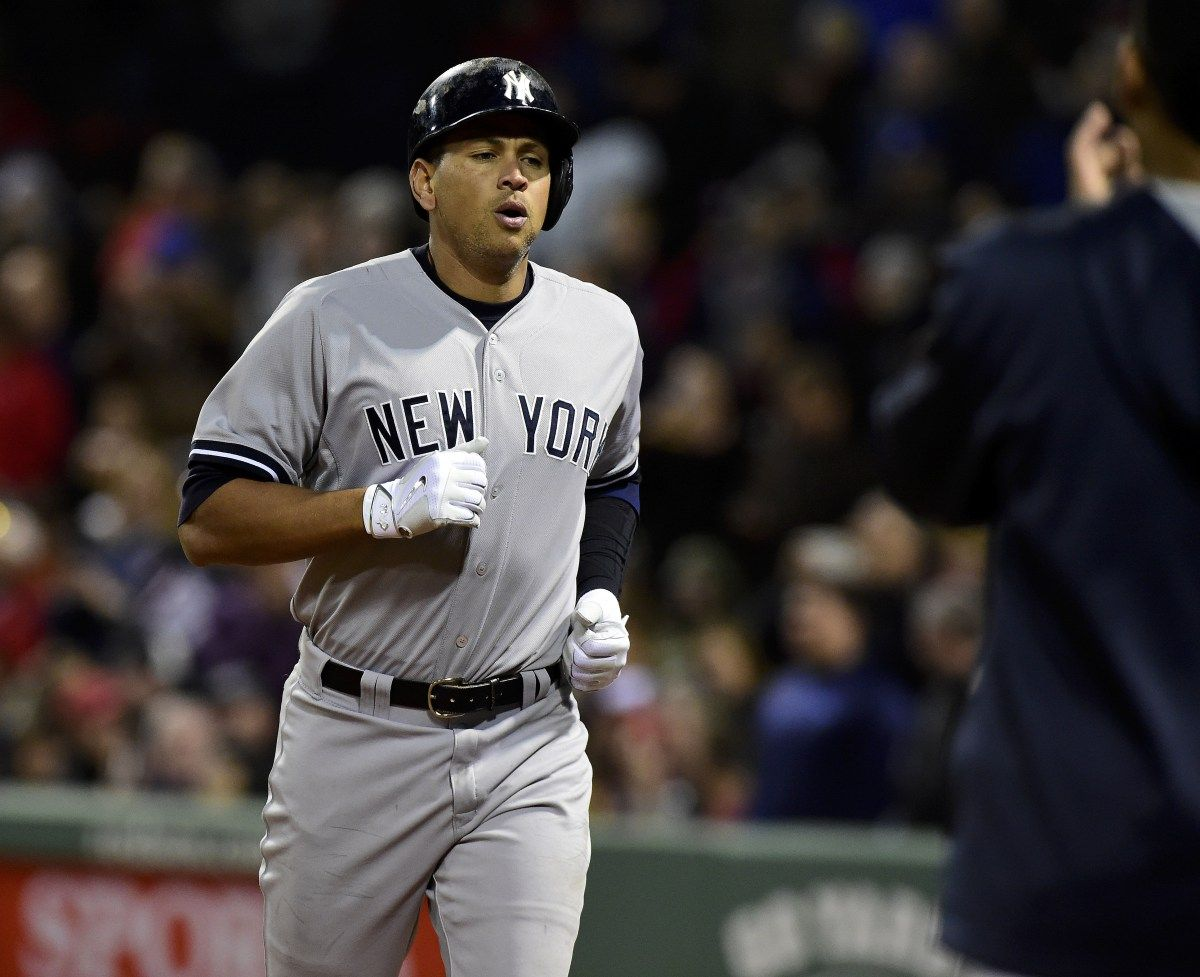Alex Rodriguez Fights Back Tears In Interview After Hitting His 660th Home Run Alex Rodriguez Ny Yankees New York Yankees