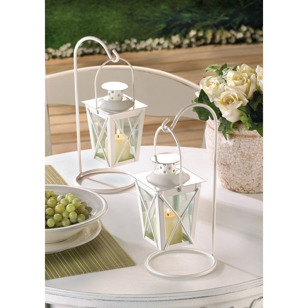 Click the picture for more details: 20 WHITE WEDDING LANTERN ...