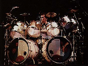 Neil Peart Grace Under Pressure Tour Ludwig DrumsDrummers