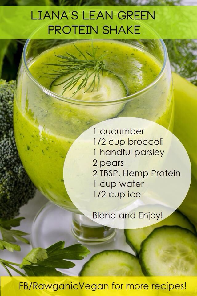 Plant Based Protein Smoothie