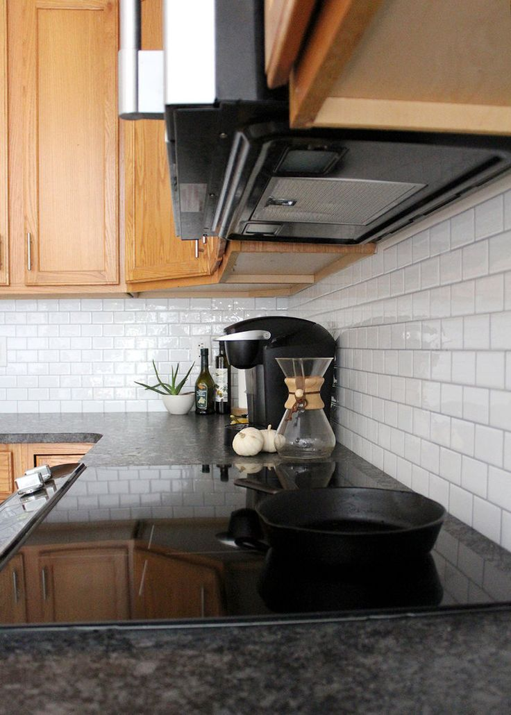 Diy peel and stick subway tile backsplash for under smallbudget kitchendiy weekendproject also best diys  home projects images in rh pinterest