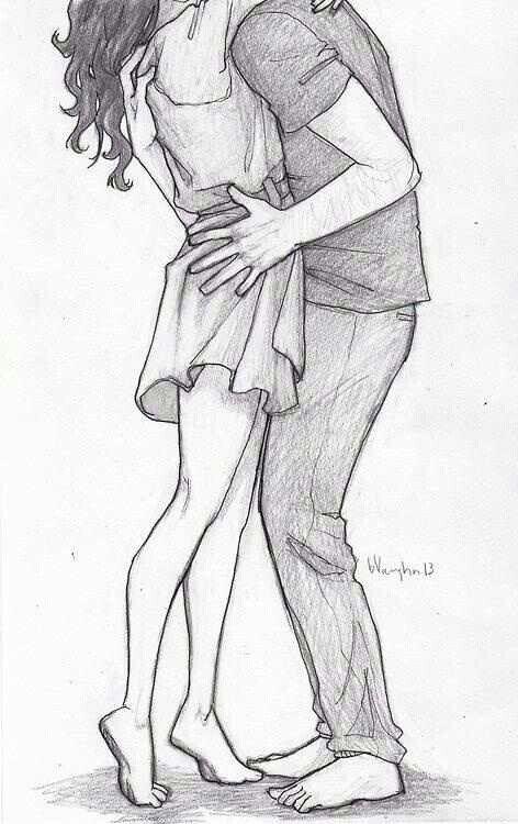 Cute Couple Drawing Drawings Doodles Pinterest Art Drawings