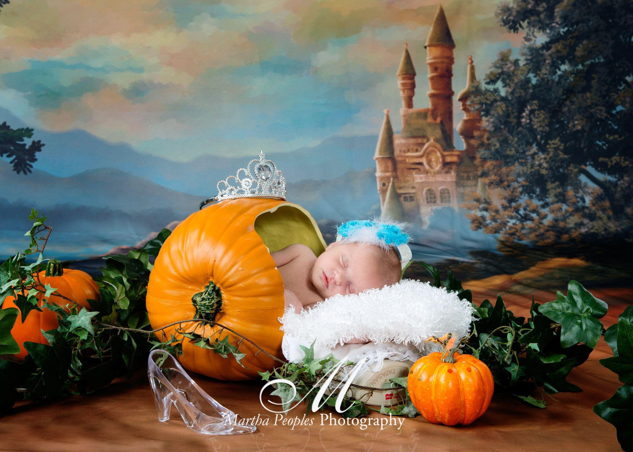 Newborn Baby Girl Cinderella My Newborn Photography