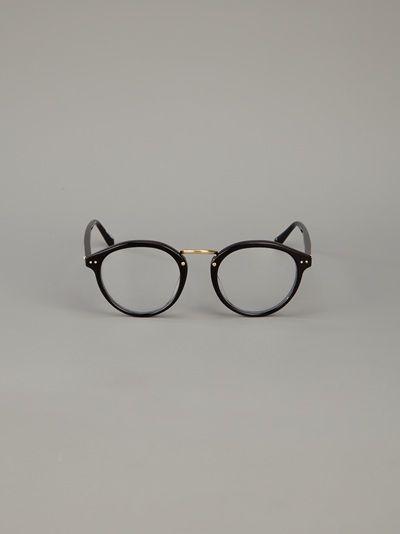 de style élégant achat spécial la meilleure attitude Linda Farrow Luxe Round Frame Optical Glasses - Mode De Vue ...