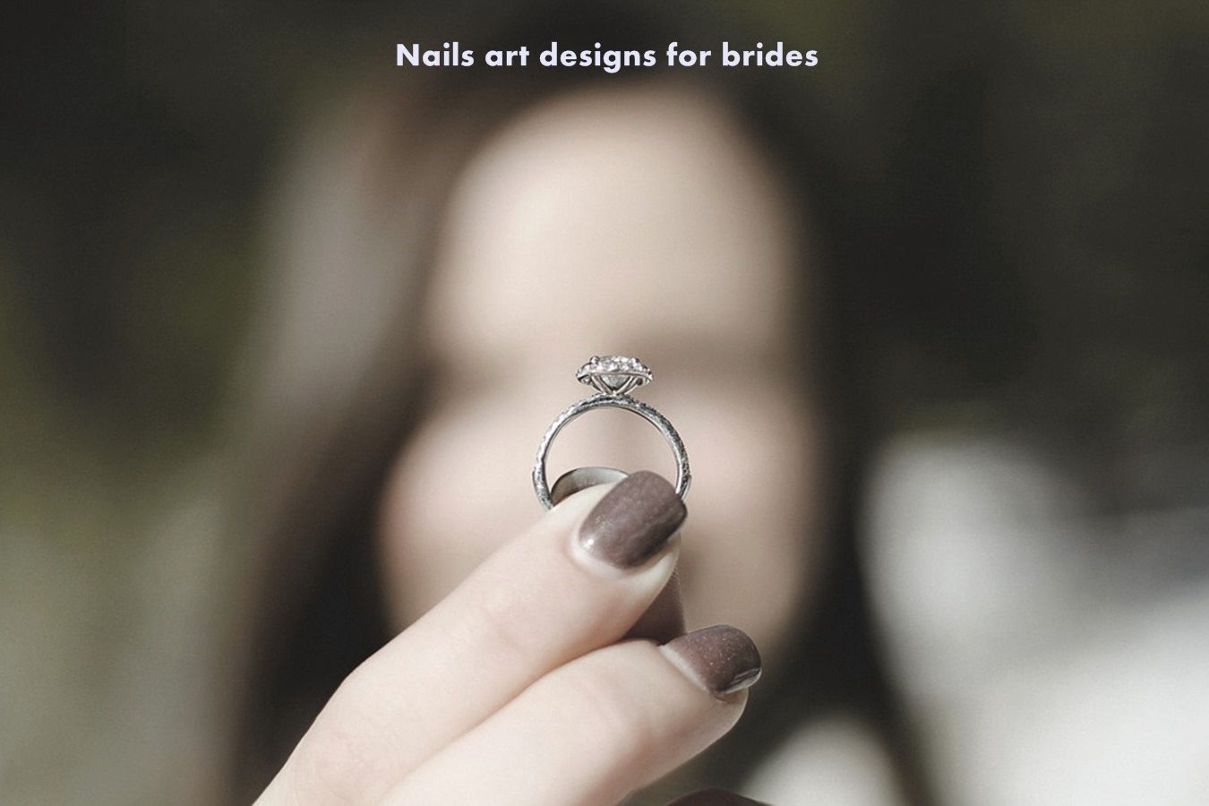 Nails art designs for brides and wedding ocation bridal nails