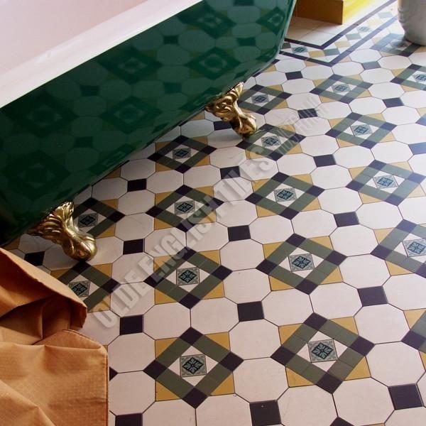 Bathroom Heritage Tessellated Tiles
