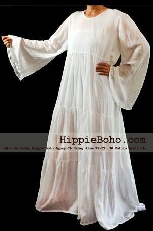 Cotton Gauze Dresses No326 Size Xs 5x Plus Size Gypsy Dress Long
