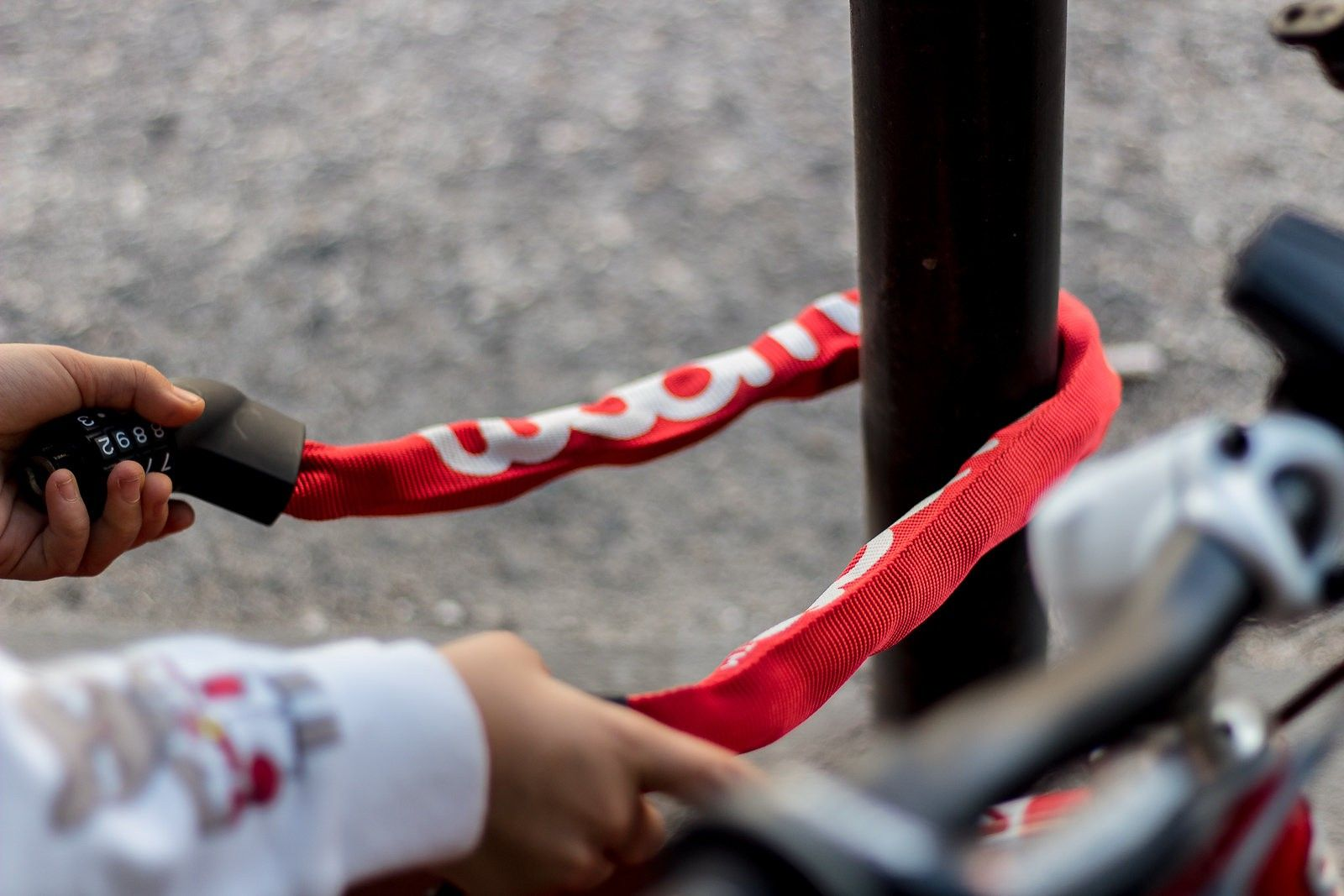Lokki Fahrradschloss Fahrradschloss Radschloss Und Fahrrad