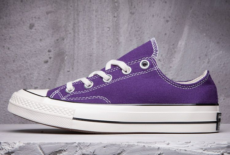 Converse 1970s Chuck Taylor All Star Womens Purple Low