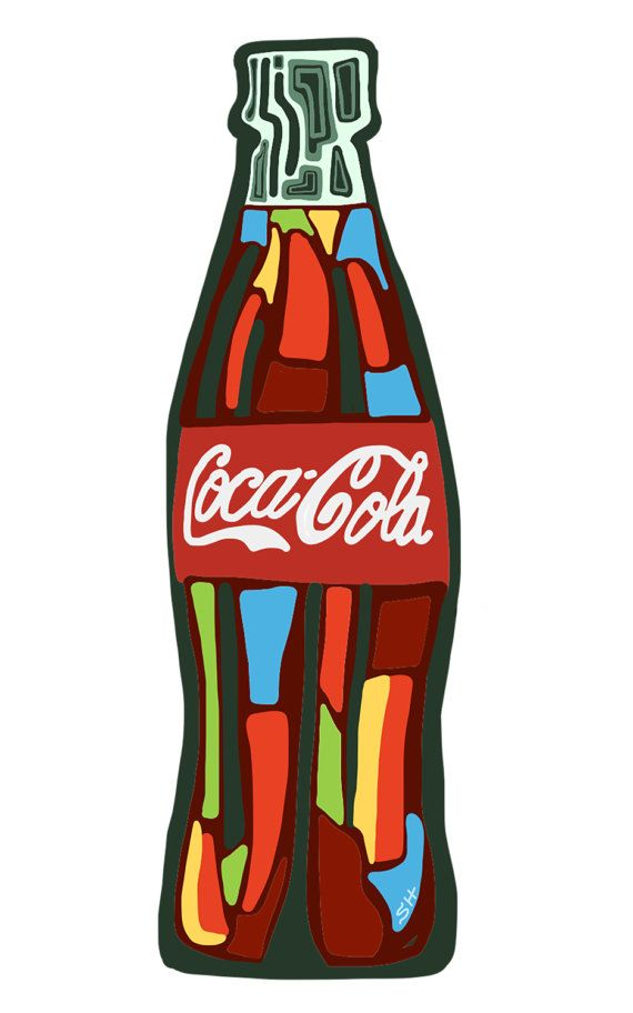 coca cola abstract This coca cola bottle print makes the perfect gift for that coca cola lover in your  life hang this art in your kitchen or bar area,, or frame it as a desktop piece.