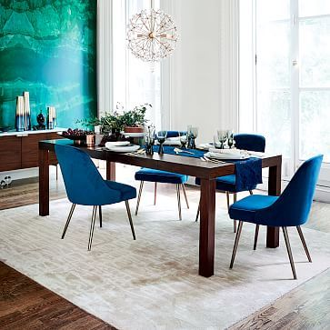 Charmant Parsons Expandable Dining Table
